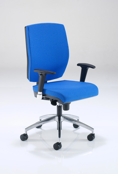 QUATTRO Q7AAICSB Ergonomic Office Chair
